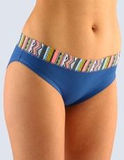 Dámské bavlněné kalhotky GINA 16078 modré