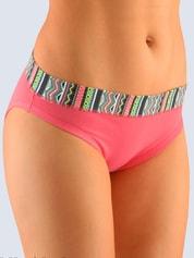 Dámské bavlněné kalhotky GINA 16078 korálové
