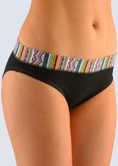 Dámské bavlněné kalhotky GINA 16078 černé