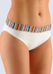 Dámské bavlněné kalhotky GINA 16078 bílé