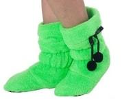 Dětská domácí obuv VIENETTA Neon - zelená