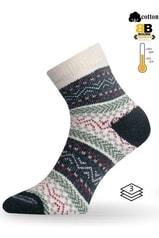 Teplé ponožky LASTING HMC zelená