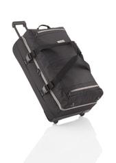 Cestovní taška na kolečkách Travelite Basics Doubledecker on wheels Black