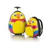 Heys Travel Tots Lightweight Kids Parrot – sada batohu a kufru